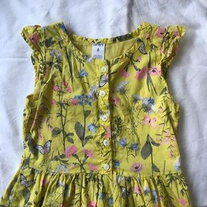 Yellow Carter's Size 6 Dress